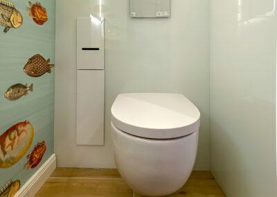 wandverkleidung wc mit einbauschrank