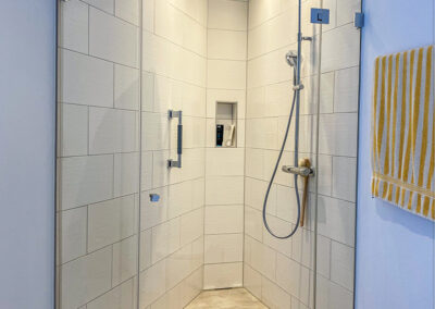 duschsystem nische