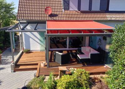 solarlux glashaus aussenmarkise