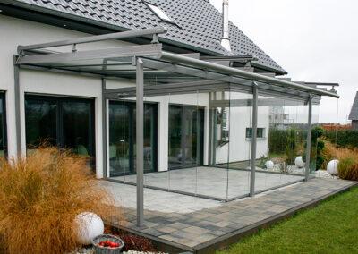 solarlux glashaus mit freiflaeche