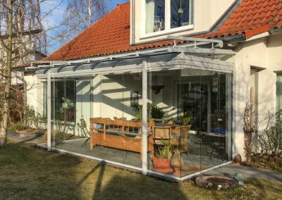 solarlux glashaus terrasse