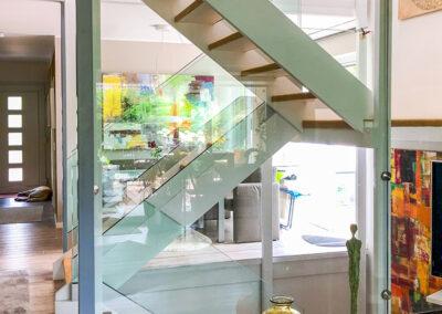 treppengelaender holzkonstruktion